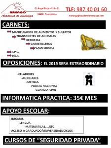 Cartel cursos marzo 2014