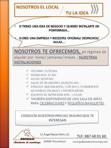 NOSOTROS EL LOCAL TU LA IDEA
